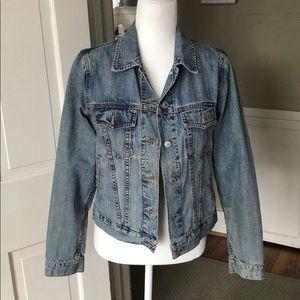 Vintage Lucky Brand Jean Jacket, size M.